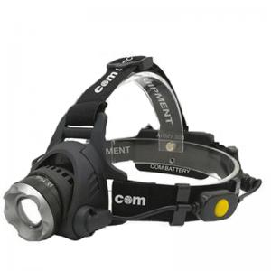 Επαναφορτιζόμενος φακός κεφαλής LED COM Army 500 14.01.007