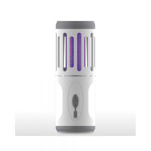 Επαναφορτιζόμενη επιτραπέζια ηλεκτρική έντομοπαγίδα + Φακός COM