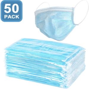 Προστατευτική μάσκα προσώπου μίας χρήσης 50 τεμάχια HPP-1