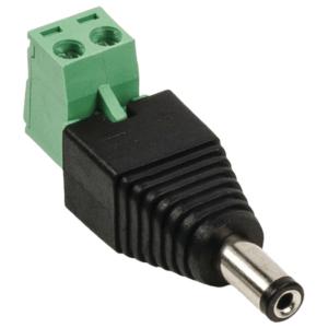 Αρσενικό βύσμα τροφοδοσίας DC με σύνδεση για TERMINAL (κλέμα)  SAS-PCM 10