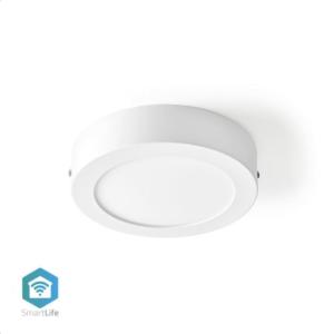 Wi-Fi έξυπνο φωτιστικό οροφής LED, διαμέτρου 17cm, 12W, 800lm NEDIS WIFILAW10WT
