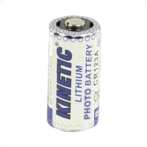 Μπαταρία λιθίου CR123A, 3V, για φωτογραφικές μηχανές, σε blister 1 μπαταρίας.