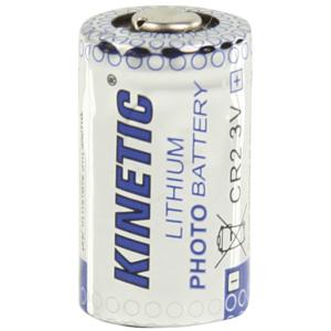 Μπαταρία λιθίου CR2, 3V, 600 mAh, για φωτογραφικές μηχανές, σε blister 1 μπαταρίας