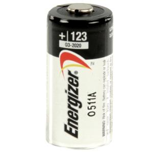 Energizer μπαταρία φώτο-λιθίου EL123, σε blister 1 μπαταρίας. ENERGIZER EL123AP