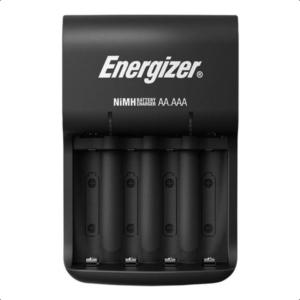 Φορτιστής μπαταριών AA/AAA Energizer Βase με 4 επαναφορτιζόμενες μπαταρίες ΑΑ.  ENERGIZER BASE CHARGER
