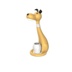 Φωτιστικό γραφείου LED Κίτρινος Σκύλος, με φως νυκτός COM.