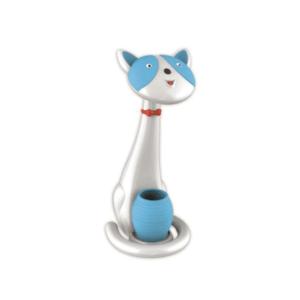 Φωτιστικό γραφείου LED Μπλε Γάτα, με φως νυκτός COM.