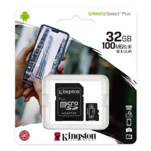 Kingston Micro SD Class 10 32GB SDCS2 Micro