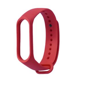 Λουράκι Σιλικόνης Κόκκινο (Xiaomi Mi Band 3/4) Strap OEM