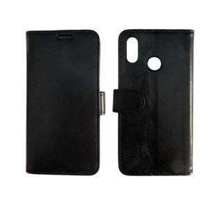 Θήκη Πορτοφόλι Μαύρη για Huawei P20 Lite – Wallet Case wal3bbblack