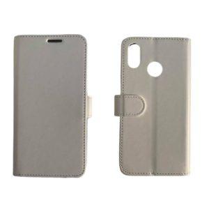 Θήκη Πορτοφόλι Λευκή για Huawei P20 Lite – Wallet Case wal3bbwhite