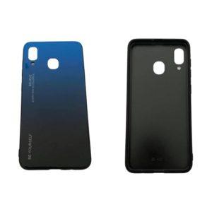 Θήκη για Samsung Galaxy A20/A30 Μπλέ/Μαύρο SgA20bb