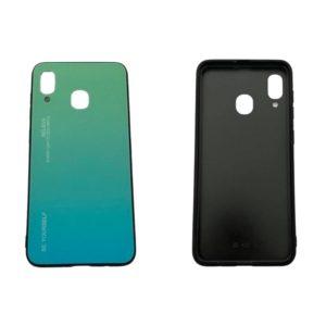 Θήκη για Samsung Galaxy A20/A30 Πράσινο/Γαλάζιο SgA20gl