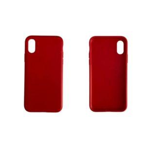 Θήκη iPhone X & Xs Κόκκινο TPUred