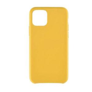 Θήκη Σιλικόνης Κίτρινη Soft TPU για iPhone 11 i11tpuy