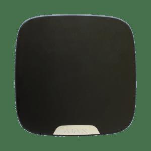 Πλαστικό καπάκι για Street Siren Double Deck, σε μαύρο χρώμα. AJAX SYSTEMS – BRANDPLATE FOR STREET SIREN DOUBLE DECK BLACK