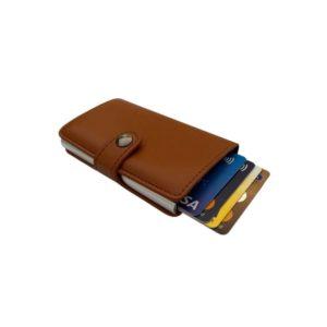 Πορτοφόλι Rfid Miniwallet Brown ΟΕΜ RFIDBROWN