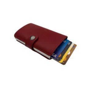 Πορτοφόλι Rfid Miniwallet Red ΟΕΜ RFIDRED