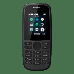 NOKIA 105 (2019) Dual Μαύρο
