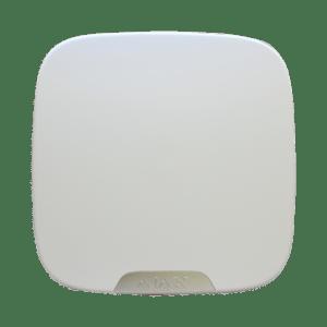 Πλαστικό καπάκι για Street Siren Double Deck, σε λευκό χρώμα. AJAX SYSTEMS – BRANDPLATE FOR STREET SIREN DOUBLE DECK WHITE