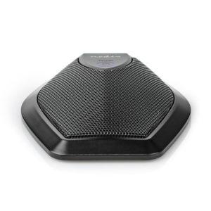 Ενσύρματο πολυκατευθυντικό μικρόφωνο, κατάλληλο για τηλεδιασκέψεις. NEDIS MICCU100BK