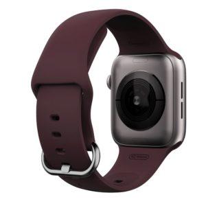 Gearband Λουράκι Σιλικόνης Μπορντό (Apple Watch 38/40mm) OEM AWBORDO