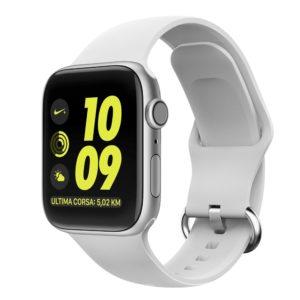 Gearband Λουράκι Σιλικόνης Λευκό (Apple Watch 38/40mm) OEM AWWHITE