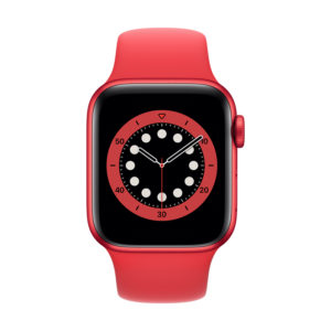 Apple Watch Series 6 GPS 40mm PRODUCT (RED) με PRODUCT (RED) Sport Band