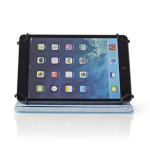 Universal θήκη για tablet 10″ σε γαλάζιο χρώμα. NEDIS TCVR10100BU