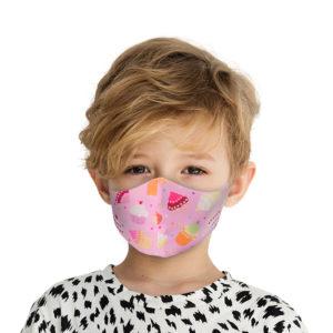 Υφασμάτινη Face Mask Παιδική Μάσκα Με Σχέδια Γλυκά MKCO