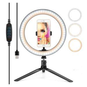 Επαγγελματικό φωτογραφικό φωτιστικό 30CM SELFIE RING LIGHT LED