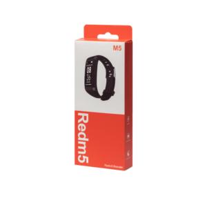 Smart band Redmi, 20mm, Bluetooth, IP67, OEM Redmi 5 Μαύρο χρώμα
