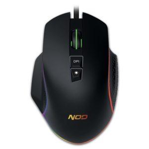 Ενσύρματο RGB gaming mouse, με ανάλυση έως και 6400 DPI. NOD RUN AMOK