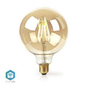 Wi-Fi έξυπνη λάμπα Filament Retro LED, E27, 5W, 500lm NEDIS WIFILF10GDG125