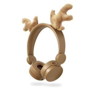 On-ear ενσύρματα ακουστικά NEDIS Animaticks Rudy Reindeer.  NEDIS HPWD4000BN