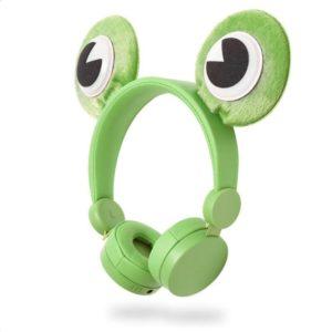On-ear ενσύρματα ακουστικά NEDIS Animaticks Freddy Frog. NEDIS HPWD4000GN