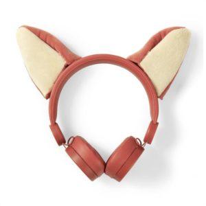 On-ear ενσύρματα ακουστικά NEDIS Animaticks Franky Fox.  NEDIS HPWD4000OG
