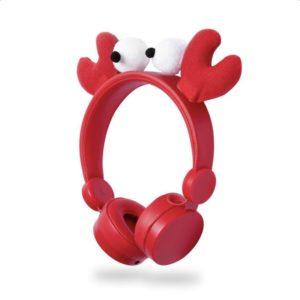 On-ear ενσύρματα ακουστικά NEDIS Animaticks Chrissy Crab. NEDIS HPWD4000RD