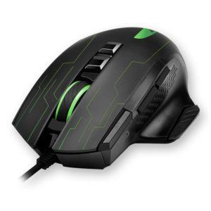 Ενσύρματο RGB Gaming mouse με λογισμικό για custom setup και ανάλυση έως 3200DPI. NOD PUNISHER