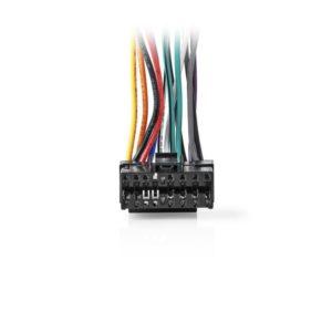 ISO Καλώδιο κατάλληλο για JVC (16 pin), 0.15m. NEDIS ISOCJVC16PVA