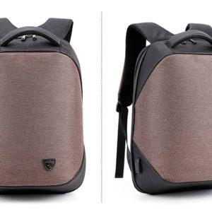 ARCTIC HUNTER τσάντα πλάτης με θήκη laptop, αδιάβροχη, καφέ B00193-COF
