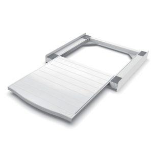 Βάση στήριξης με πρακτικό συρταρωτό ράφι, για τοποθέτηση του στεγνωτηρίου επάνω στο πλυντήριο. MELICONI BASE TORRE SMART L60