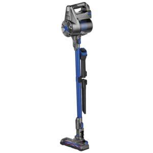 Επαναφορτιζόμενη ηλεκτρική σκούπα stick 2 σε 1, χωρίς σακούλα, σε ανθρακί-μπλε χρώμα. PC-BS 3036