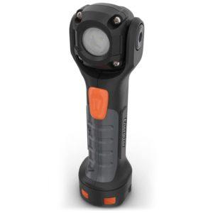 Φακός Energizer Hard Case Professional Professional Pivot Plus 2xAA, με ενσωματωμένο μαγνήτη, 1 LED και φωτεινότητα 300 lumens. ENERGIZER HARDCASE PROFESSIONAL PIVOT PLUS