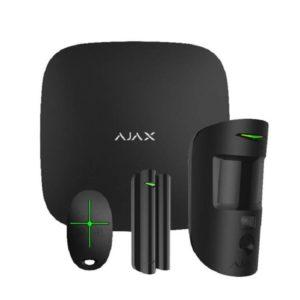 AJAX STARTER KIT CAM BLACK Ασύρματος συναγερμός