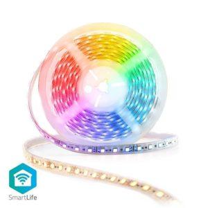 Wi-Fi Smart RGB ταινία LED. NEDIS WIFILS50CRGBW