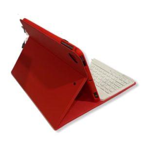 Θήκη Cover Buddy Smart Keyboard Folio Bluetooth Με Υποδοχή Στυλό Για Ipad 10.2″ Red