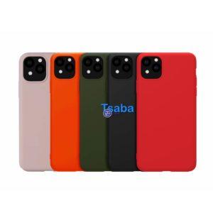 Θήκη Σιλικόνης Κόκκινη για iPhone 12 Pro Max i12mxsilre