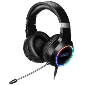 USB Gaming Headset με RGB LED φωτισμό, δόνηση και χειριστήριο. NOD DEPLOY