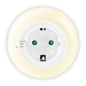 Φωτάκι νυκτός LED με pass through πρίζα σούκο. SONORA RING LIGHT